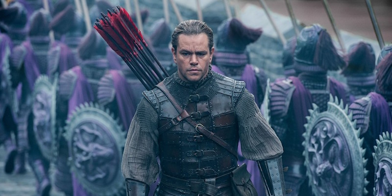 Matt Damon in The Great Wall film