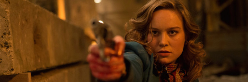 brie larson points a gun in Free Fire, a movie that's better than what you deserve