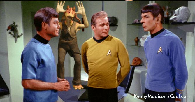 kirk spock mccoy and jar jar binks in sickbay