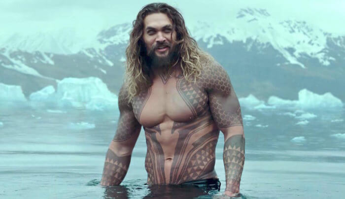 jason momoa being ripped in cold water